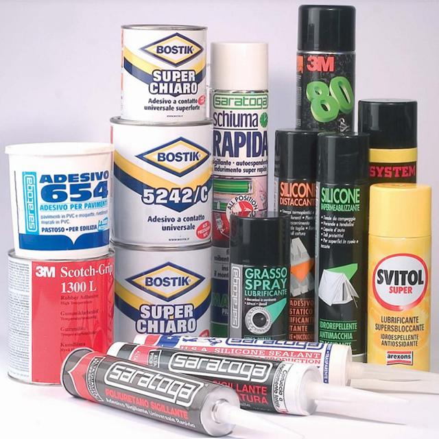 adesivi sigillanti e lubrificanti