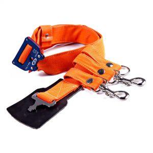 Cinturone arancione in tessuto ignifugo Antincendio Boschivo