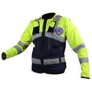 Jacket con maniche staccabili
