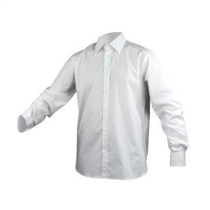 Camicia bianca a manica lunga