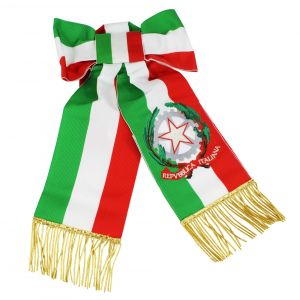 Fascia tricolore per sindaco