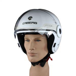 Casco modello jet per completo per motociclisti