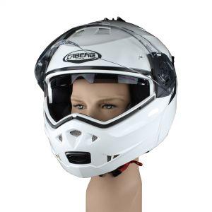Casco modello integrale per completo per motociclisti