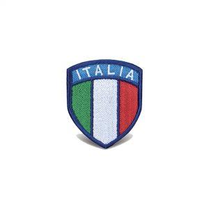 Ricamo scudetto Italia