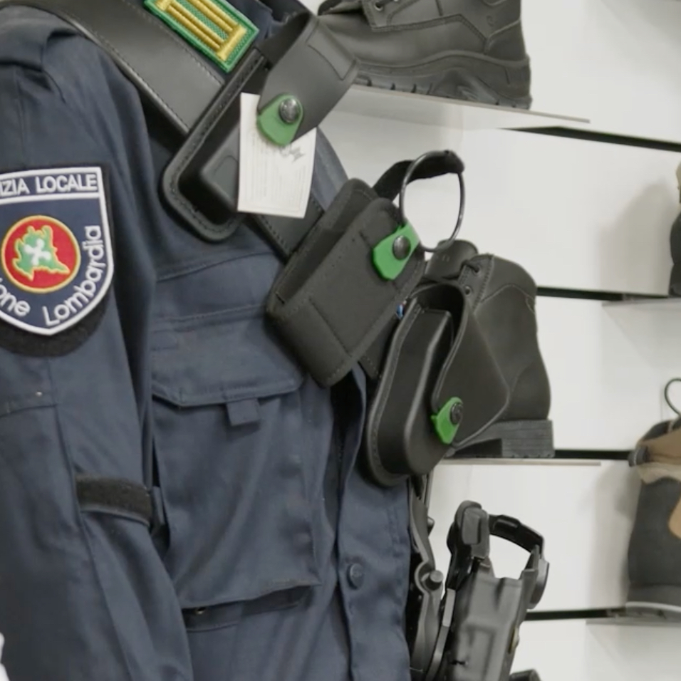 Abbigliamento per agenti di sicurezza ora disponibile nello shop online!